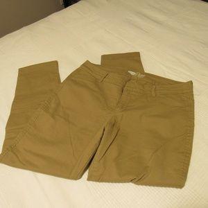 Old Navy Khaki ankle pant